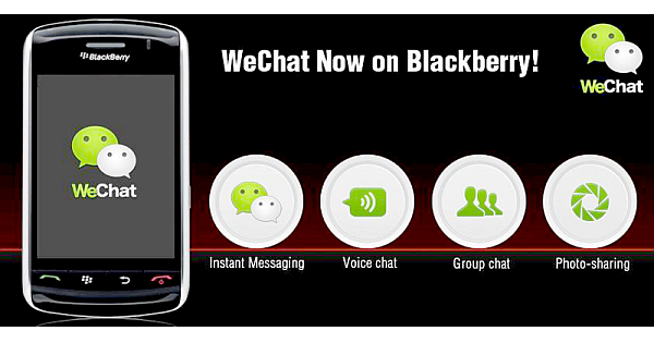 wechat blackberry
