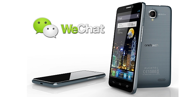 WeChat for Alcatel