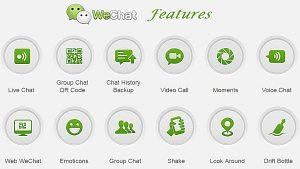 wechat features