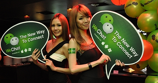 Wechat is the Most Popular Instant Messaging App in China