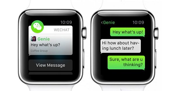 WeChat For Apple Watch