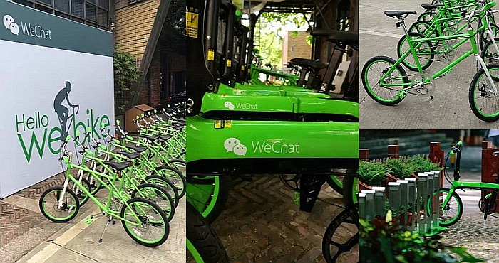 WeChat Messenger and Bicycle Rentals