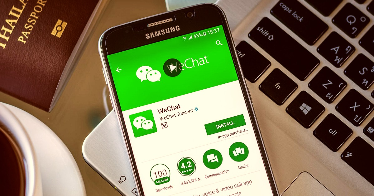 WeChat 1 billion downloads